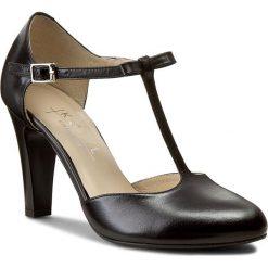 Półbuty KOTYL - 5871 Czarny Tosca. Czarne półbuty damskie Kotyl, ze skóry, eleganckie. W wyprzedaży za 219.00 zł.