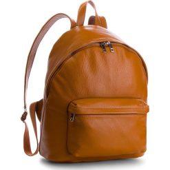 Plecak CREOLE - K10550  Koniak. Brązowe plecaki damskie Creole, ze skóry. Za 389.00 zł.