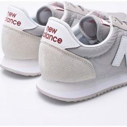 New Balance - Buty WL220RL. Szare obuwie sportowe damskie New Balance, z materiału. W wyprzedaży za 239.90 zł.