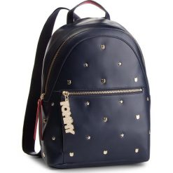 Plecak TOMMY HILFIGER - Mascot Backpack Stud AW0AW05810 902. Niebieskie plecaki damskie Tommy Hilfiger, ze skóry ekologicznej. Za 899.00 zł.