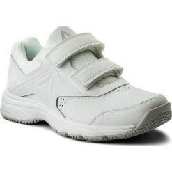 Buty Reebok - Work N Cushion 3.0 Kc BS9531 White/Steel. Białe obuwie sportowe damskie Reebok, z materiału. Za 229.00 zł.