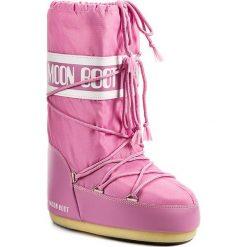 Śniegowce MOON BOOT - Nylon 14004400063 Rosa D. Czerwone śniegowce i trapery damskie Moon Boot, z materiału. Za 359.00 zł.