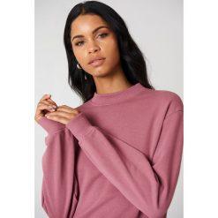 NA-KD Basic Bluza basic - Pink. Różowe bluzy damskie NA-KD Basic, z bawełny. Za 100.95 zł.