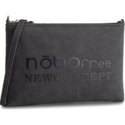 Torebka NOBO - NBAG-F2590-C020 Czarny. Czarne listonoszki damskie Nobo, ze skóry ekologicznej. W wyprzedaży za 129.00 zł.