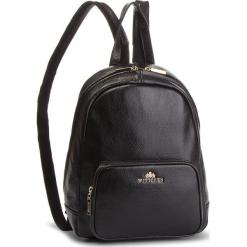 Plecak WITTCHEN - 86-4E-369-1 Czarny. Czarne plecaki damskie Wittchen, ze skóry. W wyprzedaży za 459.00 zł.