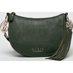 Guess Jeans - Torebka Alana. Szare torby na ramię damskie Guess Jeans. Za 539.90 zł.