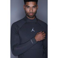 Jordan Bluza anthracite/black. Bluzy męskie Jordan, z elastanu. W wyprzedaży za 389.40 zł.