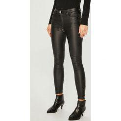 Answear - Jeansy. Czarne jeansy damskie ANSWEAR. Za 119.90 zł.