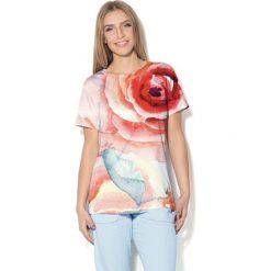 Colour Pleasure Koszulka CP-030  9 pudrowy róż r. XL/XXL. Bluzki damskie Colour Pleasure. Za 70.35 zł.