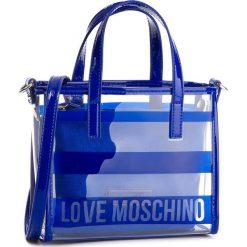 Torebka LOVE MOSCHINO - JC4309PP05KP170A Blu. Niebieskie torebki do ręki damskie Love Moschino, ze skóry ekologicznej. W wyprzedaży za 319.00 zł.