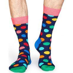 Happy Socks - Skarpety. Szare skarpety męskie Happy Socks, z bawełny. Za 34.90 zł.