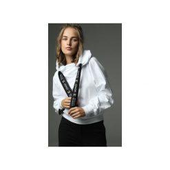 Bluza Go Sky High - biała. Białe bluzy damskie Madnezz, z aplikacjami, z bawełny. Za 299.00 zł.