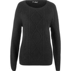 Sweter bonprix czarny. Swetry damskie marki bonprix. Za 69.99 zł.