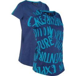 e1d20286f3 Niebieskie koszulki sportowe damskie ze sklepu BonPrix.pl