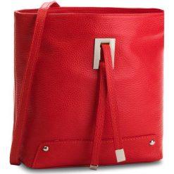 Torebka CREOLE - K10548  Czerwony. Czerwone listonoszki damskie Creole, ze skóry. Za 169.00 zł.