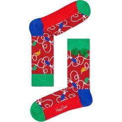 Happy Socks - Skarpety Holiday Gift Box (3-pak). Różowe skarpety męskie Happy Socks. W wyprzedaży za 79.90 zł.