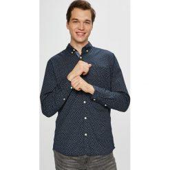 Jack & Jones - Koszula. Czarne koszule męskie Jack & Jones, z tkaniny, button down, z długim rękawem. W wyprzedaży za 89.90 zł.