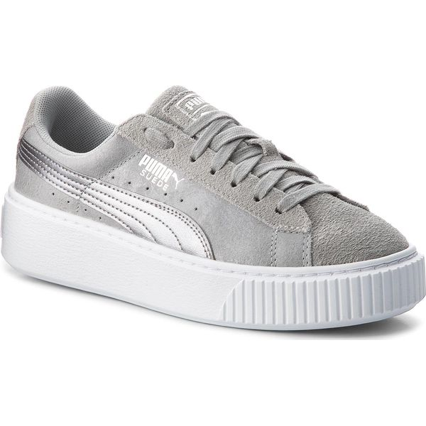Sneakersy PUMA Suede Platform Safari 364594 02 QuarryQuarry