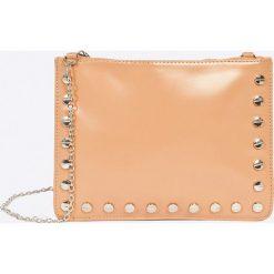Missguided - Torebka. Pomarańczowe torby na ramię damskie Missguided. W wyprzedaży za 29.90 zł.