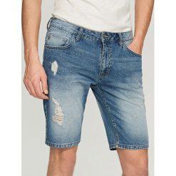 Jeansowe krótkie spodenki - Niebieski. Jeansy dla chłopców marki 4F JUNIOR. W wyprzedaży za 59.99 zł.