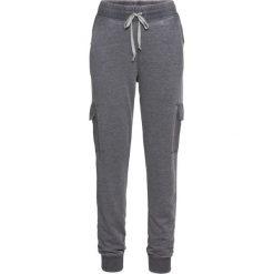 """Spodnie dresowe """"used look"""" bonprix antracytowy """"oil wash"""". Szare spodnie dresowe damskie bonprix, z dresówki. Za 109.99 zł."""