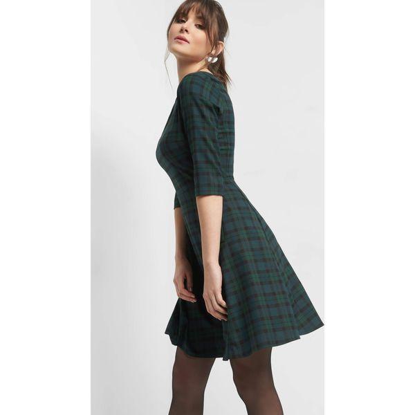 b5d5d80a91 Rozkloszowana sukienka w kratę - Sukienki damskie marki Orsay. Za ...