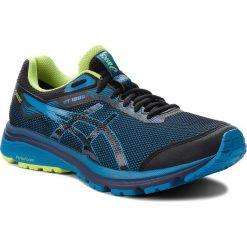 Buty ASICS - GT-1000 7 G-Tx GORE-TEX 101A037 Black/Race Blue 001. Czarne buty sportowe męskie Asics, z gore-texu. W wyprzedaży za 379.00 zł.