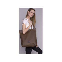 Torba basic brąz. Brązowe torebki shopper damskie Drops, z bawełny. Za 108.00 zł.