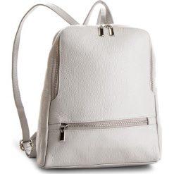 Plecak CREOLE - K10505 Szary. Szare plecaki damskie Creole, ze skóry, klasyczne. Za 259.00 zł.
