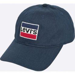 Levi's - Czapka. Brązowe czapki i kapelusze męskie Levi's. Za 149.90 zł.