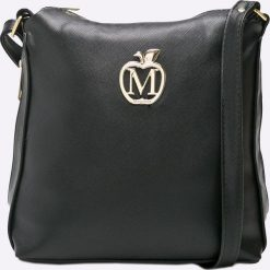 Manzana - Torebka. Czarne torby na ramię damskie Manzana. W wyprzedaży za 99.90 zł.