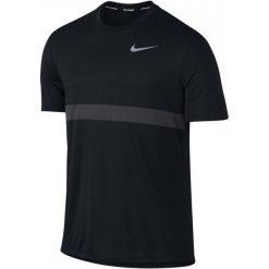 Nike Koszulka Do Biegania M Nk Znl Cl Relay Top Ss Xxl. Czarne koszulki sportowe męskie Nike. W wyprzedaży za 139.00 zł.