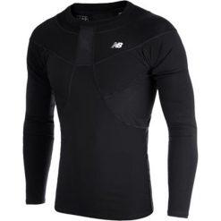 Koszulka kompresyjna - MT710136BK. Czarne koszulki sportowe męskie New Balance, na jesień, z materiału. W wyprzedaży za 149.99 zł.