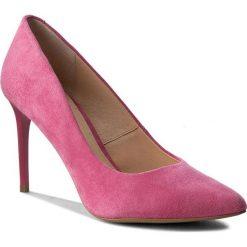 Szpilki WOJAS - 6366-67 Różowy. Czerwone szpilki damskie Wojas, ze skóry. W wyprzedaży za 199.00 zł.