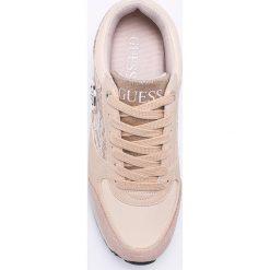 Guess Jeans - Buty. Szare obuwie sportowe damskie Guess Jeans, z jeansu. W wyprzedaży za 359.90 zł.