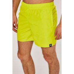 Adidas Performance - Szorty. Żółte krótkie spodenki sportowe męskie adidas Performance, z materiału. W wyprzedaży za 99.90 zł.