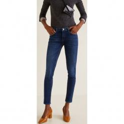 Mango - Jeansy push-up. Niebieskie jeansy damskie Mango. Za 119.90 zł.