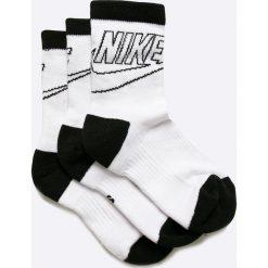 Nike Sportswear - Skarpetki (3-pack). Szare skarpety damskie Nike Sportswear, z bawełny. W wyprzedaży za 19.90 zł.