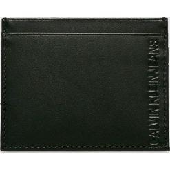 Calvin Klein Jeans - Portfel skórzany. Czarne portfele męskie Calvin Klein Jeans, z jeansu. Za 159.90 zł.