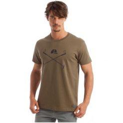 Polo Club C.H..A T-Shirt Męski L Khaki. Brązowe koszulki polo męskie Polo Club C.H..A, z bawełny. W wyprzedaży za 119.00 zł.