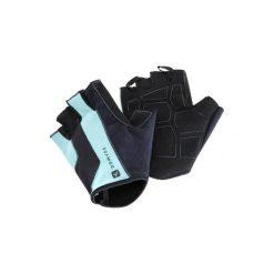 Rękawiczki fitness 500. Niebieskie rękawiczki damskie DOMYOS, z elastanu. Za 39.99 zł.