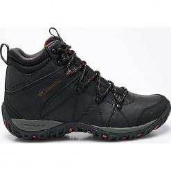 Columbia - Obuwie Peakfreak Venture Mid. Brązowe trekkingi męskie Columbia, z materiału. W wyprzedaży za 429.90 zł.
