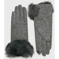 Trendyol - Rękawiczki. Czerwone rękawiczki damskie Trendyol, z dzianiny. Za 69.90 zł.
