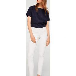 Mango - Jeansy Belle. Białe jeansy damskie Mango. Za 139.90 zł.