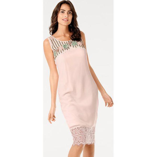 19f414e18d Sukienka w kolorze jasnoróżowym - Czerwone sukienki damskie marki ...