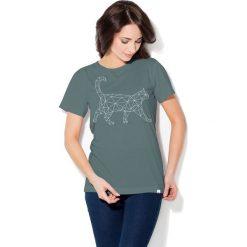 Colour Pleasure Koszulka CP-030 237 grafitowa r. M/L. T-shirty damskie Colour Pleasure. Za 70.35 zł.