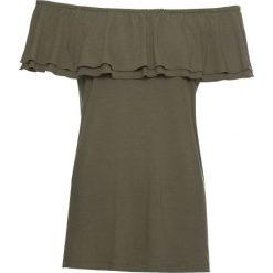 Bluzka shirtowa bonprix ciemnooliwkowy. Bluzki damskie marki Colour Pleasure. Za 49.99 zł.