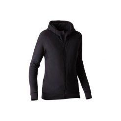 Bluza z kapturem Gym 540. Czarne bluzy damskie DOMYOS. Za 109.99 zł.