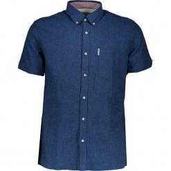 Koszula - Regular fit - w kolorze niebieskim. Niebieskie koszule męskie Ben Sherman, z bawełny, button down. W wyprzedaży za 173.95 zł.