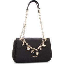 Torebka TWINSET - Tracolla AA8PFC Nero 00006. Czarne torebki do ręki damskie Twinset, z materiału. Za 719.00 zł.